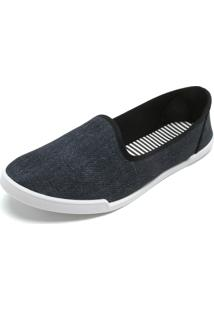 Slipper Moleca Jeans Azul