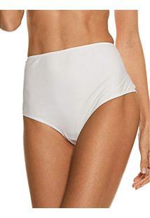 Calcinha Cintura Alta Hot Pant All Purpose Branco G bde47b0fdc2