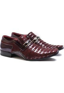 Sapato Social Couro Calvest Masculino - Masculino