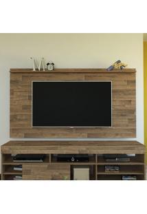 Painel Slim Ideal Para Tv De Até 52 Polegadas Em M Rustico Artely