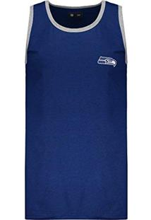 84235987f2 Regata New Era Nfl Seattle Seahawks Azul Mescla