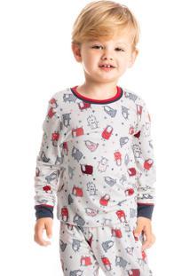 Pijama Infantil Legging Estampado Animals