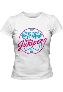 Camiseta Blitzart San Junipero Branca