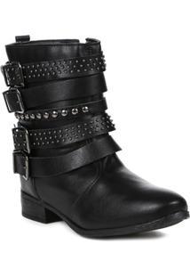 Bota Autentique Ankle Boot Feminina - Feminino