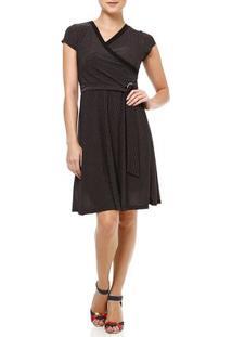 Vestido Curto Feminino Preto