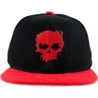 Boné Snapback Zero Blood Skull Preto dea4c1fa7b06