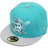 Boné New Era Aba Reta Fechado Mlb Pirates Edge - Unissex 864ba010334