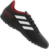Centauro. Chuteira Society Adidas Predator Tango 18.4 Tf ... 96f9f2786f87a