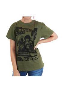 Camiseta Estampada Colcci Verde