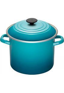 Caldeirão Esmaltado Stock Pot Le Creuset Azul Caribe 26Cm - 12392