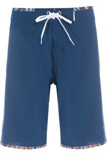 Bermuda Masculina Mid Edgy Erebo - Azul
