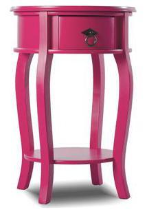 Mesa Lateral Status Rosa Pink 6004Rp
