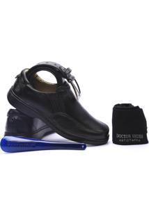 c4c234213e900 Kit Masculino Sapato+Cinto+Meia+Calçadeira Doctor Shoes - Masculino