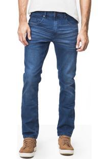 Calça Khelf Jeans Fit Cinza Chumbo