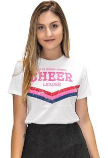 T-Shirt Up Close Cheer Branca