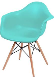 Cadeira Eames Com Braco Base Madeira Tiffanny Fosco - 43634 - Sun House