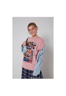 T-Shirt Malha Ampla Swag