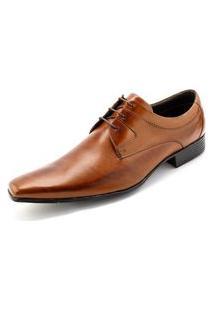 Sapato Confort Ettore, Ravena - Couro Caramelo.