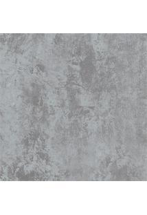 Papel De Parede Cimento 100X52Cm Cinza Escuro