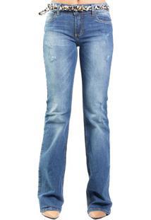 Calça Jeans Fátima Cinto Onça Colcci