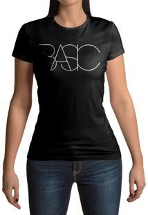 Camiseta Hunter Basic Preta