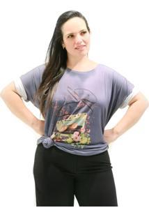 Camiseta Fita Cassete Plus Size