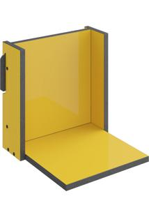 Prateleira Decorativa 29,5 Cm 1005 Mov Amarelo - Bentec