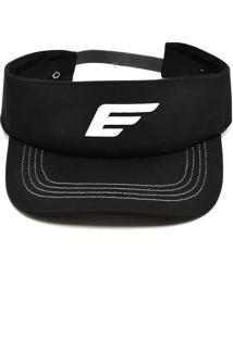 Viseira Ellus Logo Preto