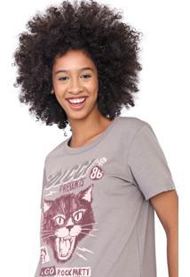 Camiseta Colcci Rock Cinza - Kanui
