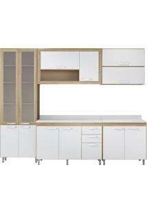 Cozinha Compacta Faina 12 Pt 3 Gv Argila