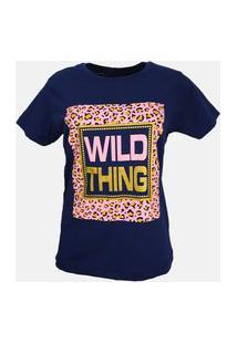 T-Shirt Wild Thing Azul