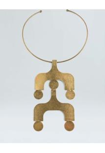 Colar Ipanema-Dourado - Un