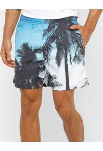 Shorts Mash Estampado Masculino - Masculino