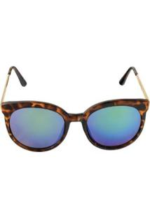 Óculos De Sol Khatto Elegancy Feminino - Feminino-Verde 58ffc0a3c0