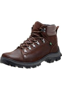Bota Atron Shoes Adventure Mochileiros 267 Café