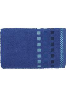 Toalha De Rosto Calera 49X70 - Karsten - Azul