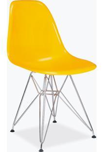 Cadeira Eames Dsr - Fibra De Vidro Amarelo