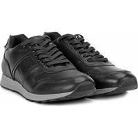 cc2fd0830 Shoestock. Tênis Couro Shoestock Jogging Recorte Croco Masculino