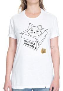 Minha Caixa Minha Vida - Camiseta Basicona Unissex