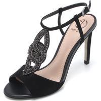 726026441 Sandália Dumond Strass feminina   Shoes4you