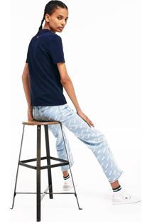 Polo Lacoste Live Slim Fit Azul