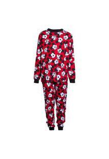 Pijama Infantil Menino Manga Longa Mickey And Friends