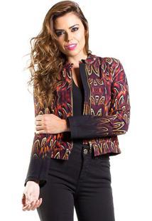 Jaqueta Estampada Iódice