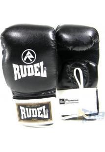 Luva Boxe Rudel 10 - 16Oz Pto/Bco - Rudel