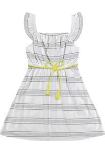 Vestido Nanai Curto Off White