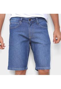 Bermuda Jeans Colcci Básica Noah Masculina - Masculino-Azul