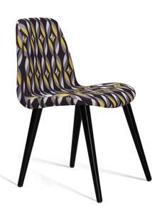 Cadeira De Jantar Eames Palito Preta