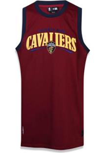 6000618e6 Regata Cleveland Cavaliers Nba New Era Masculina - Masculino-Vinho