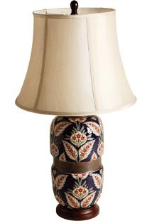 Abajur Decorativo De Porcelana Garibaldi