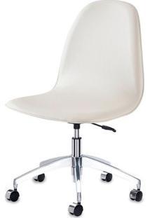 Cadeira Boom Assento Dunas Branco Com Base Rodizio Em Aluminio - 46916 - Sun House